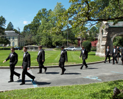 Christ Church Groomsmen 250x200 Weddings at Christ Church
