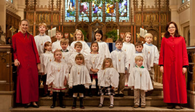 Christ Church St. Nicholas Choir, photo by Joanne Bouknight