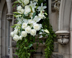 Christ Church Wedding Flowers 250x200 Weddings at Christ Church
