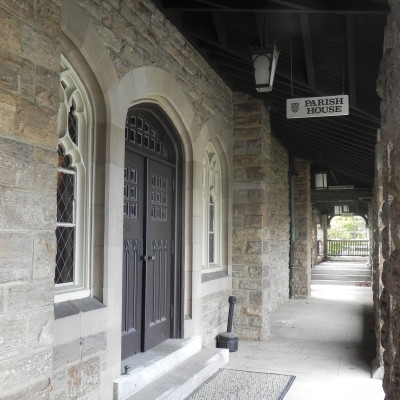 Accessible via the Cloister Walkway, the Parish House is where you will find the Library (1st Floor) and Loft (2nd Floor). Neighbor to Neighbor's Food Pantry is located in the basement of this building.