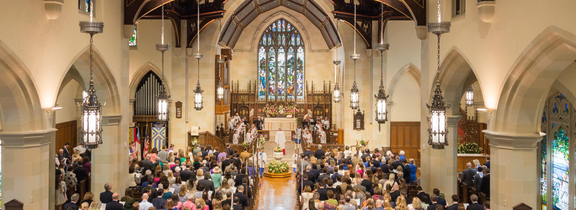 Christ Church Easter 2016, photo by Lawrence Sterne