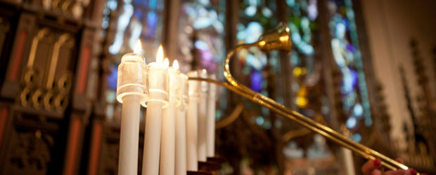 Christ Church Acolyte Candles, photo by Joanne Bouknight