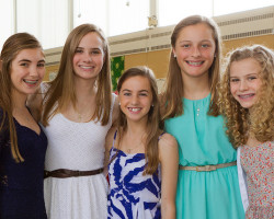Christ Church Confirmation Girls, photo by Joanne Bouknight