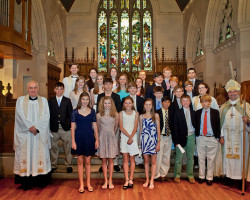 Christ Church Confirmation Group, photo by Joanne Bouknight