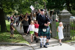 Great Fall Festival Bagpipe Parade