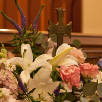 Easter Flowers at Christ Church Greenwich