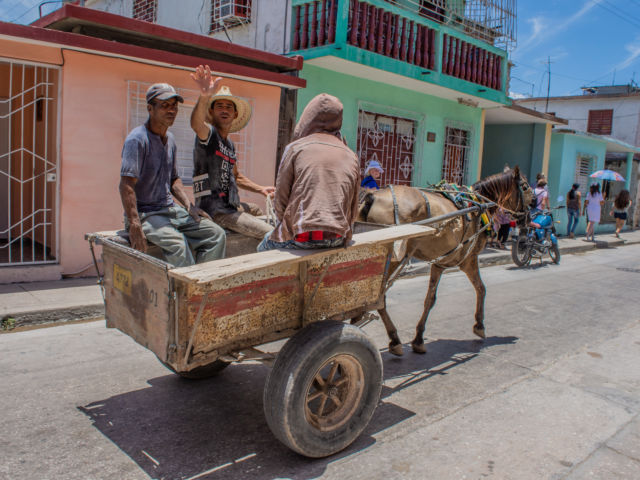 Cuba_Holguin_Heading to Lunch_Debbie Wolf-2