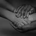community-helping-hands bw