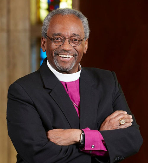 Bishop Michael Curry square